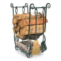 Achla Country Firewood Holder with Tools