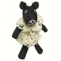 DZI Handmade Designs Sheep Woolie Fingerpuppet Ornament