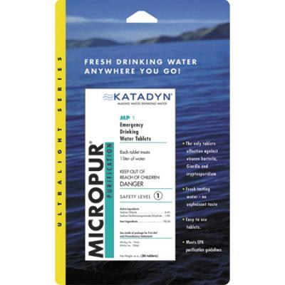 Katadyn Micropur Tablets 30 Pk