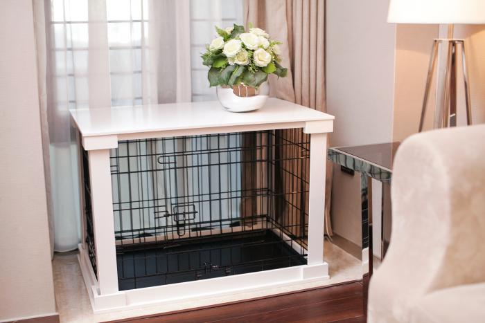 Cage with Crate Cover, Medium