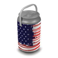 Picnic Time Extra Large Insulated Mega Can Cooler, Stars and Stripes Can