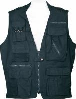 Humvee Safari Large Vest - Black