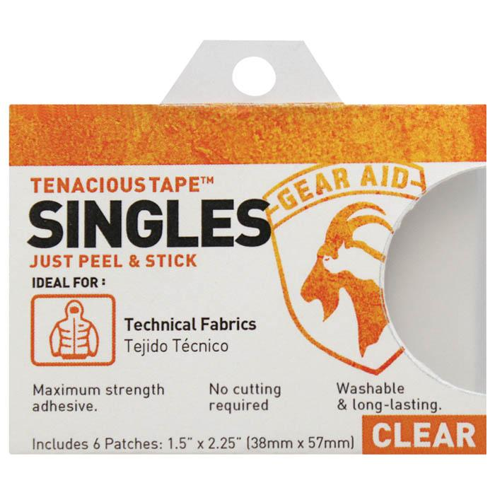 Tape Singles Patch Kit Clear