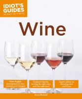Penguin Group Idiot's Guides: Wine