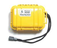 "Pelican Products Micro Case Solid, Yellow, 5.44"" x 4.06"" x 2.13"""