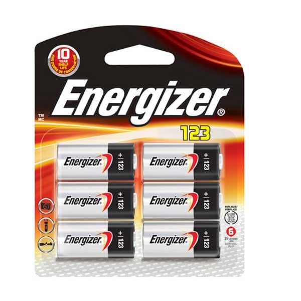 Energizer Ultimate Lithium 123 3v Batteries, 6 Pack