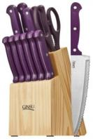 Ginsu Essential Series 14 Piece Cutlery Set, Purple