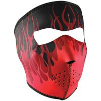 Zan Headgear Neo Face Mask - Red Flames