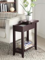 Convenience Concepts  American Heritage Flip Top End Table (Espresso)