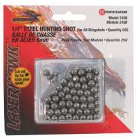 """Marksman - Slingshot Ammo - 1/4"""" Steel Shot (200)"""
