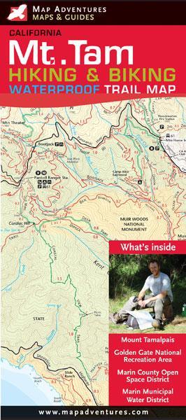 Earthwalk Press Anza-borrego Desert Rec Map