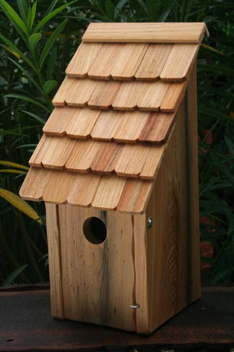 Heartwood Bluebird Bunkhouse Bird House - Natural