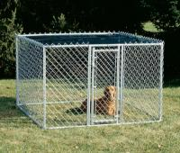 Chain Link Portable Kennel