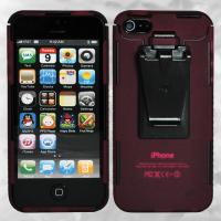 Nite-ize iPhone 5 Connect Case, Translucent Cranberry