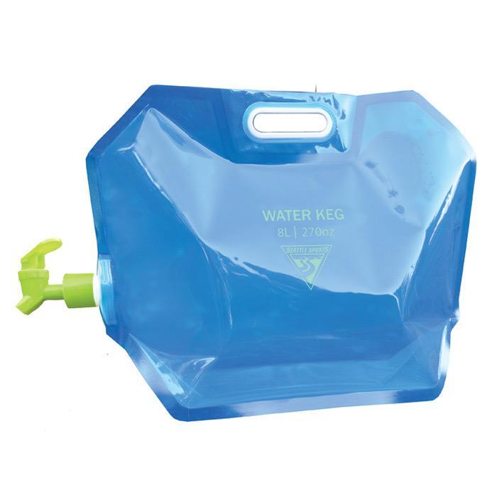 Seattle Sports Aquasto Water Keg 8L, Blue