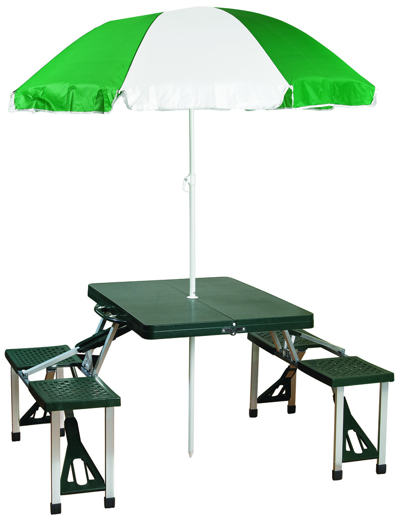Stansport picnic table and umbrella combo pack - Children s picnic table with umbrella ...