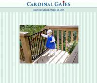 Cardinal Gates Maximum Child Safety Gate for Top of a Stairway