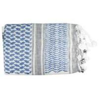 ProForce Shemagh Scarf Blue and White