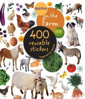 Workman Publishing Eyelike On the Farm 400 Reusable Stickers