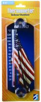 Headwind American Flag Window Thermometer