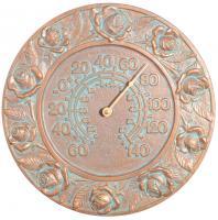 Whitehall Rose Thermometer - Copper Verdi
