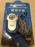 Quantum Fx Am/Fm Radio With Led Flashlight Belt