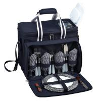 Picnic at Ascot Bold Picnic Cooler for 4