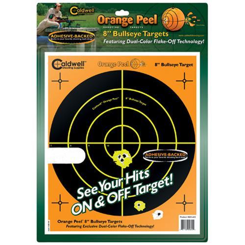 "Caldwell Orange Peel 8"" bulls-eye: 10 sheets"