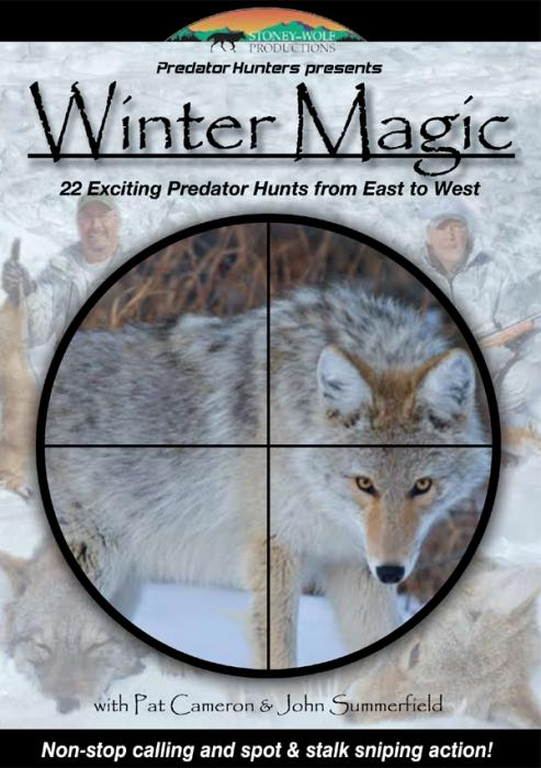 Stoney-Wolf Winter Magic - Predator Hunters DVD