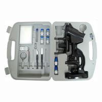 Vivitar 100 Pc. Microscope Set - 300/600/1200x Magnification