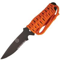 Ultimate Fixed Blade Survival ParaKnife 3.0 FS with Orange Paracord Handle