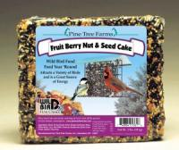 Pine Tree Farms 2.5 Pound Fruit, Berry, Nut Seed Cake