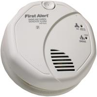 First Alert SCO7CN Battery-Operated Combination Smoke/Carbon Monoxide Alarm w/ Voice Location