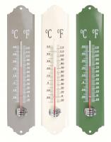 Best For Birds Metal Thermometer Assorted Colors