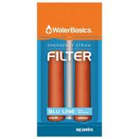 Water Basics Emergency Straw Filter - 2Pk