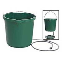 Farm Innovators 2 Gallon Plastic Heated Bucket