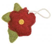 Loofah Art Hibiscus