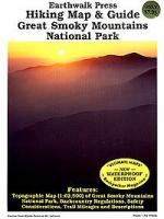 Earthwalk Press Great Smoky Mountains Np Hk Map Guide