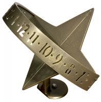 Sun Clock Sundial - French Bronze