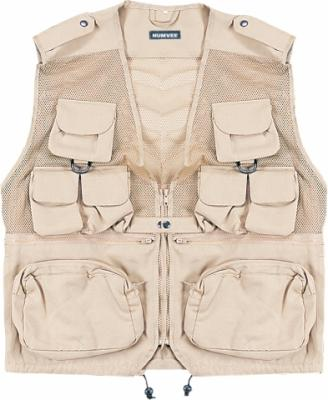 Humvee Tactical Vest - Khaki, XX Large
