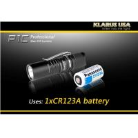 Klarus P1C, Black Body, 1 x CR123A