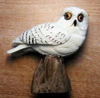 Songbird Essentials Snowy Owl Table Piece
