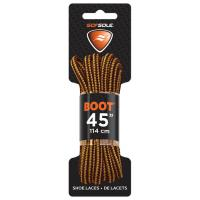 """Boot Waxed Lace Gold/brown 45"""""""