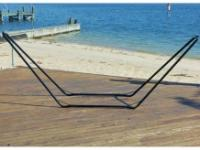 Bliss Hammocks 10' Steel Hammock Stand - Black