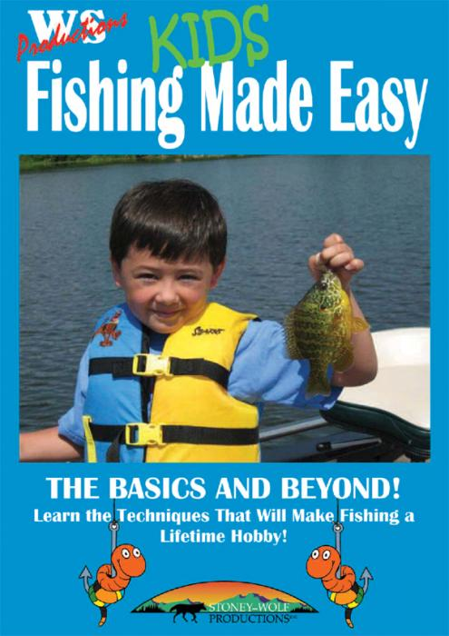 Stoney-Wolf Kids Fishing Made Easy DVD