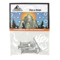 Liberty Mountain Rings and Pins, 6 Pack