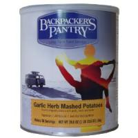 Backpacker's Pantry Garlic Herb Mash Potatoes, Can