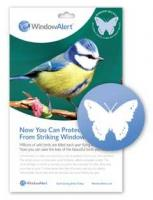 Bird's Choice Window Alert Butterfly Decals
