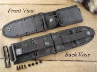 ESEE-6 Molle Back (Black)