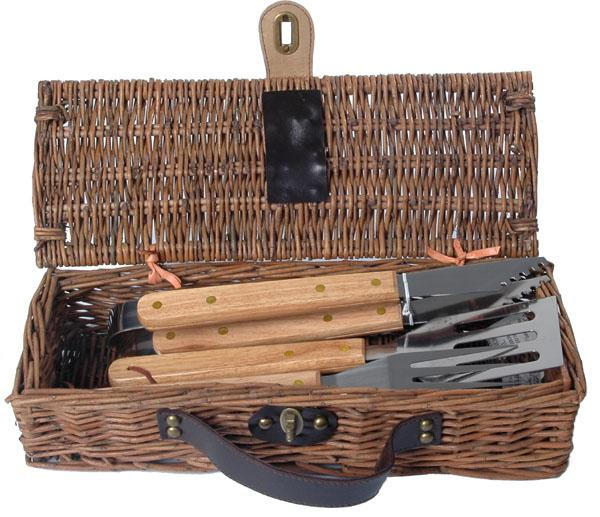 Picnic & Beyond Portable Skewer Collection BBQ Basket